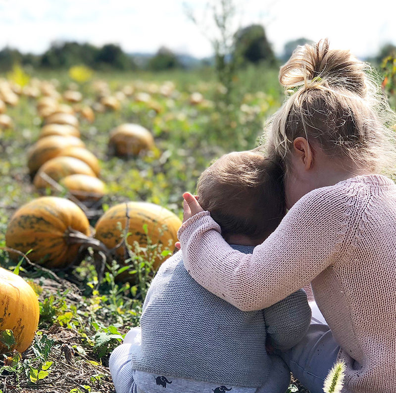 Autumn must-do: Visiting a pumpkin field with our Seed Papilio
