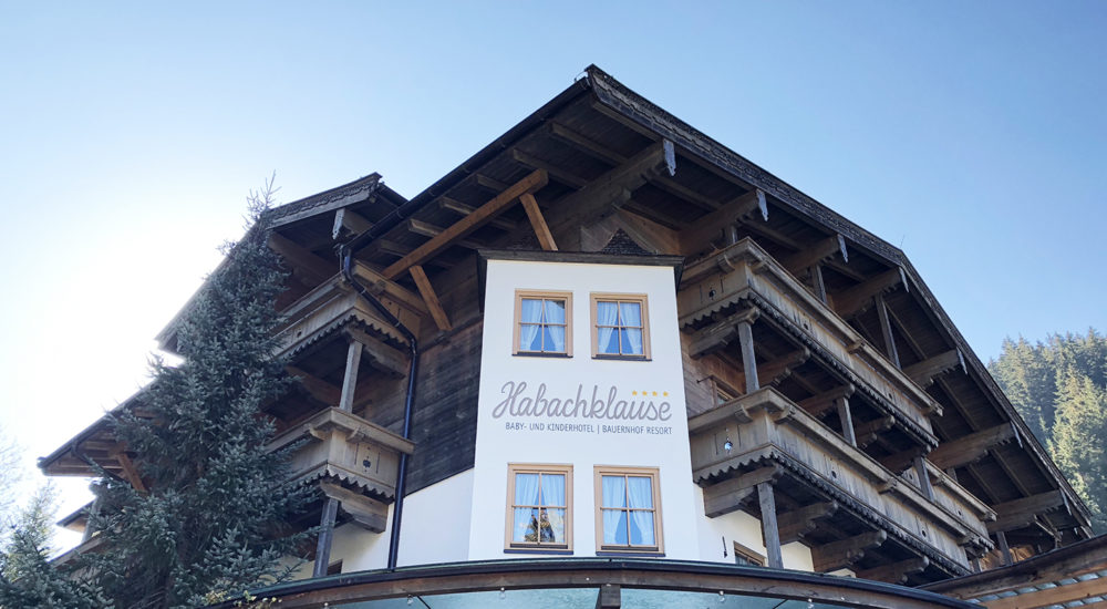 Our visit at the family hotel Habachklause in Austria
