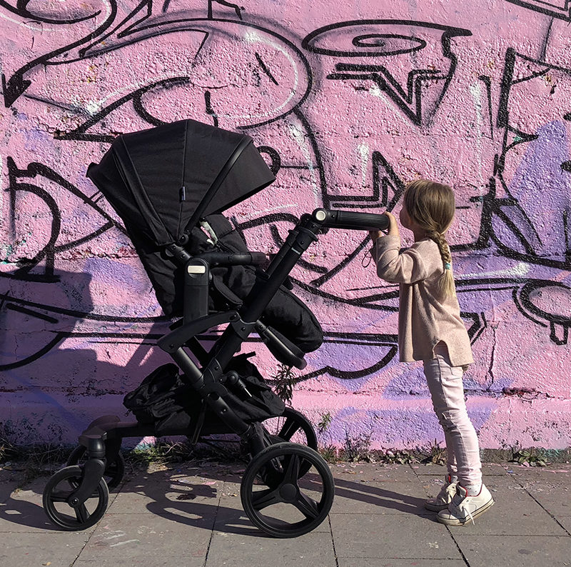 Exploring Munich with the stroller from my Bonavi 2.0
