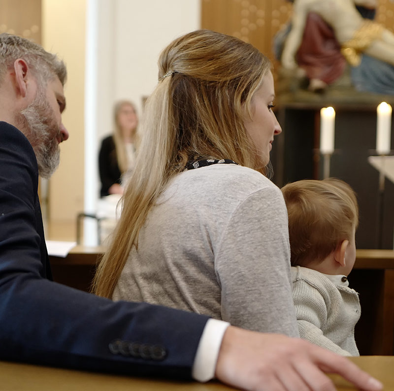 Baptism of our little boy – Taufe von unserem Sohn
