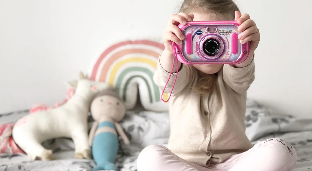 Die Welt durch Kinderaugen sehen mit der eigenen Kinder-Kamera