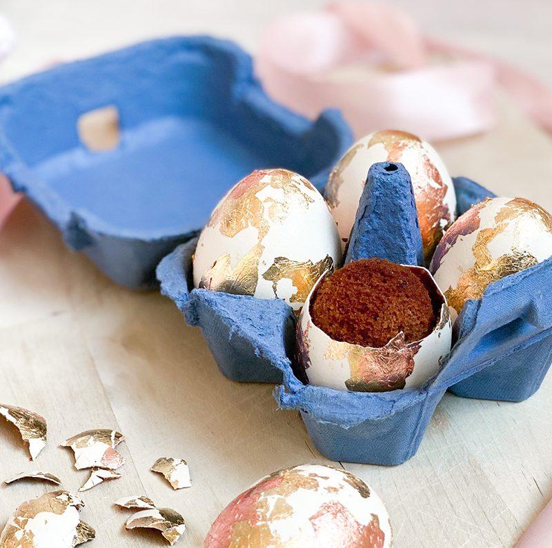 Oster-Überraschung: Kuchen im Ei