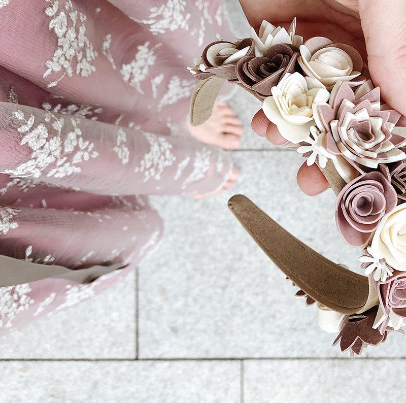 Perfekter Haarschmuck für das Oktoberfest – Flower Crown für die Wiesn