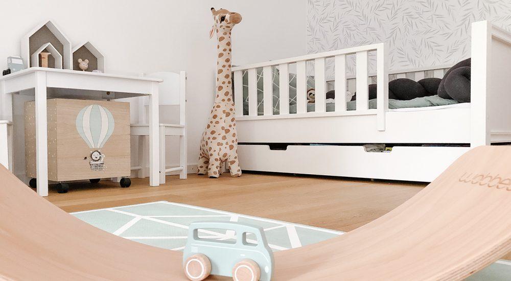 Kinderzimmer – Ein Traum in Mintgrün und Weiß
