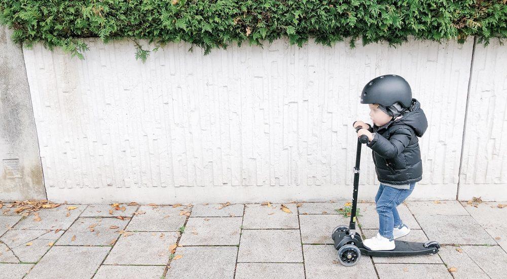 Roller und co. für gesunde Kinder dank Bewegung im Freien