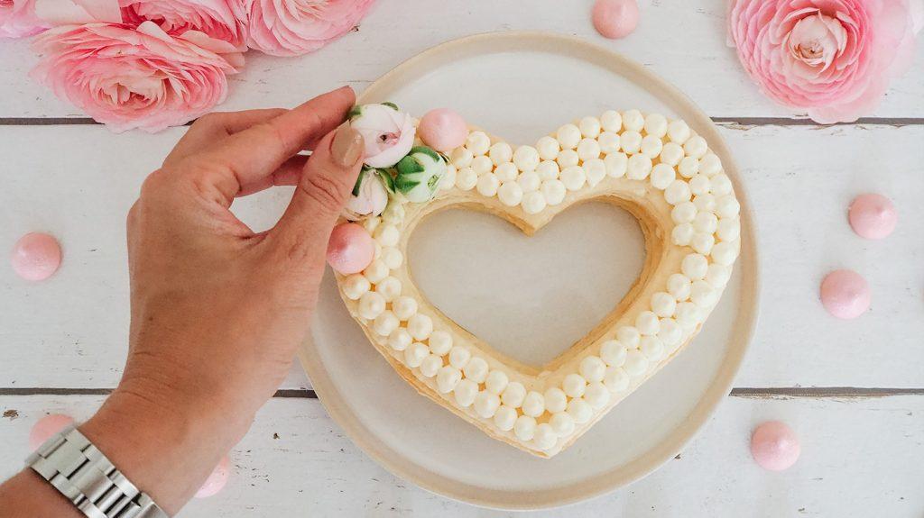 CF CosyFoxes Muttertag Herzkuchen einfach