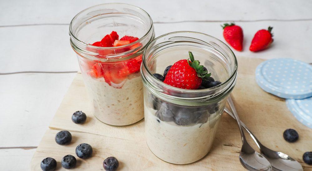 Overnight Oats – ein gesundes Frühstück