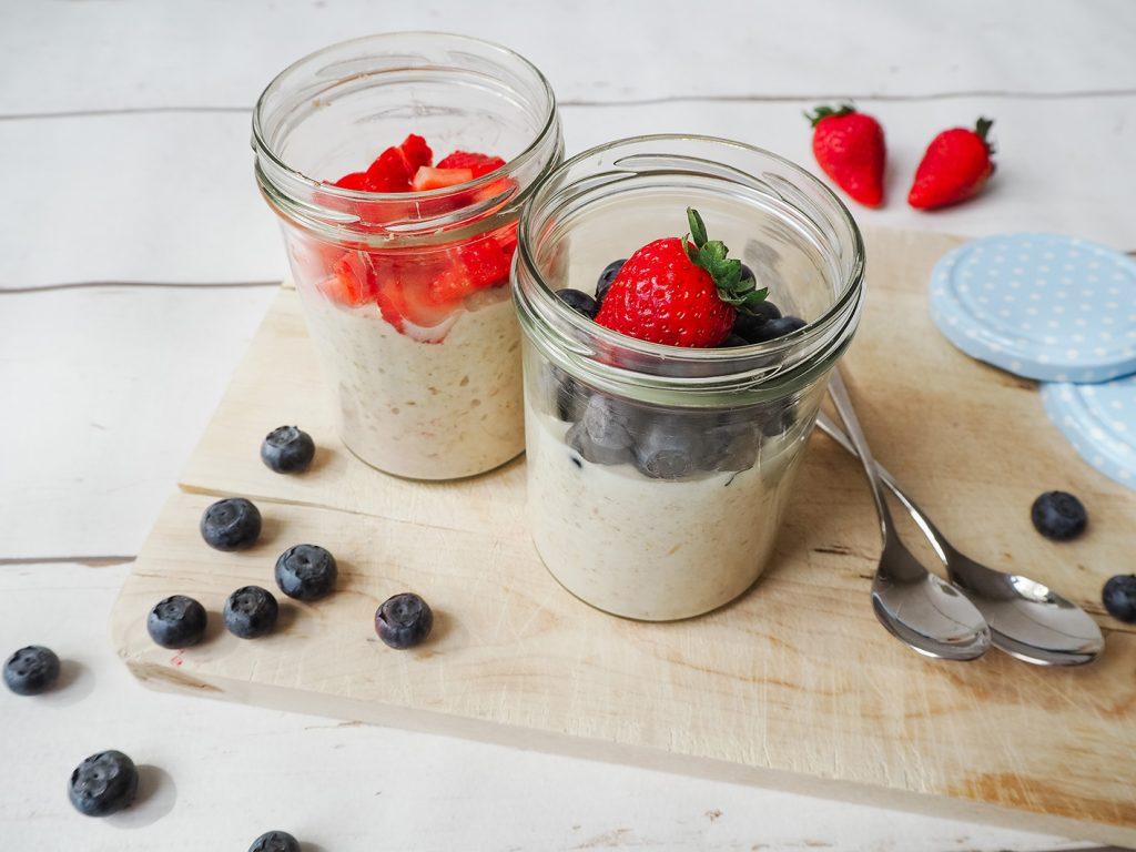 CF CosyFoxes Overnight Oats Haferflocken Porridge gesundes Frühstück