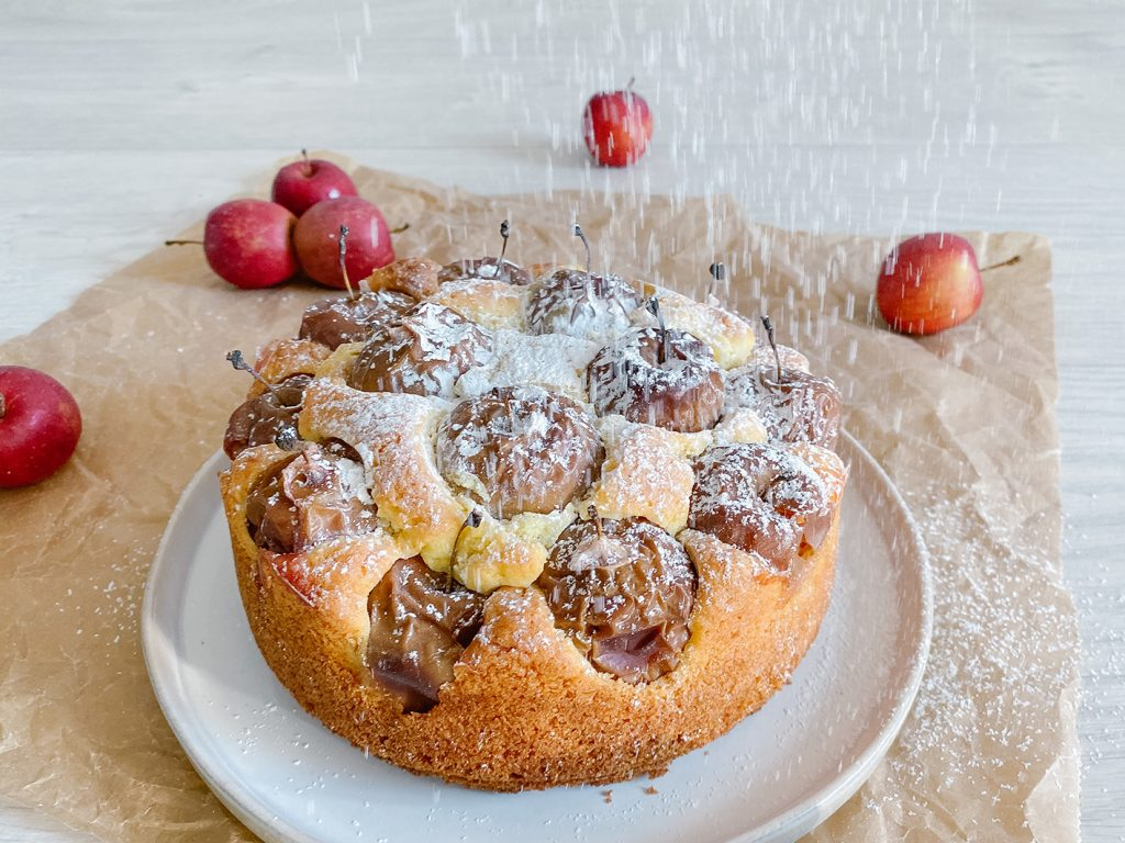 CF CosyFoxes Apfelkuchen Mama Rezept