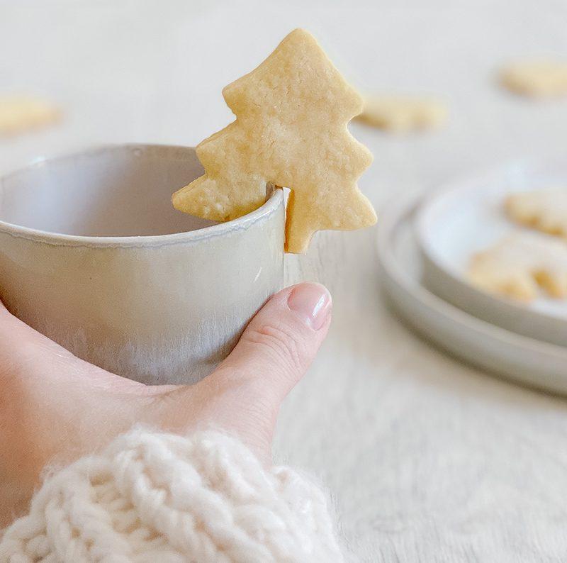 Tassenkekse – Weihnachtskekse aus Mürbteig mal anders