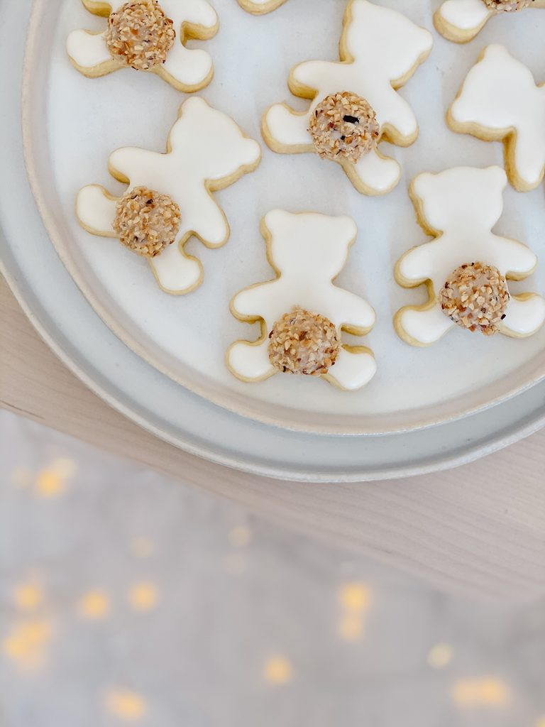 CF CosyFoxes süsse Eisbären Kekse Giotto Schwänzchen Mürbteig Weihnachten Plätzchen